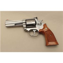 Smith and Wesson Model 686 revolver, .357  Magnum caliber, Serial #ABS5785.  The pistol  is in very