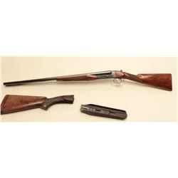 Winchester Model 21 SxS shotgun, 16 gauge, 26 barrels, blued