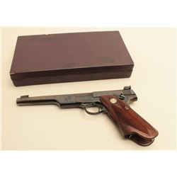 Colt Bullseye Match Target Woodsman S/N MT2763 (Made 1938) in