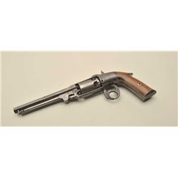 Rare Savage  North Figure 8 iron frame revolver, NSNV
