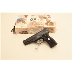Colt All American Model 2000 semi-auto pistol, 9mm caliber, Serial