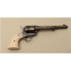 Modern Colt SAA commemorative revolver, .44 caliber, Serial #2151WC. The
