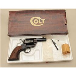 Colt SAA Sheriffs Model revolver, .44/40 caliber, Serial #SA41440. The