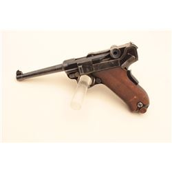 Luger Model 1900 American Eagle semi-automatic pistol, .30 caliber, 4.75