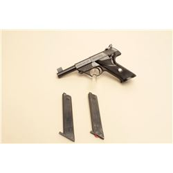 High Standard Sport King Model semi-automatic pistol, .22LR caliber, 4.5