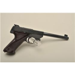 Hi-Standard Sport-King model semi-automatic pistol, .22LR caliber, 6.75 barrel, blued