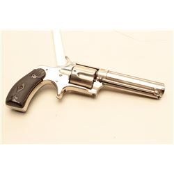 Remington sawhandle Smoot Model spur trigger revolver, .38 caliber, 3.75
