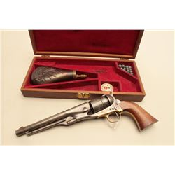 Older Italian reproduction of a Model 1860 percussion revolver, Western
