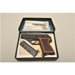 Mauser HSc American Eagle Edition (Interarms-marked) semi-automatic pistol, S/N 1302