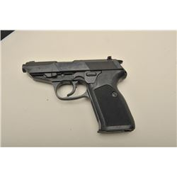 Walther Model P5 semi-automatic pistol, 9mm caliber, 3.5 barrel, blued