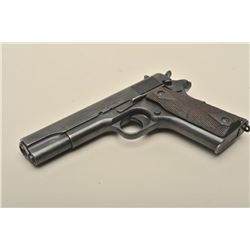 Colt Model 1911 U.S. semi-automatic pistol, .45 caliber, 5 barrel,
