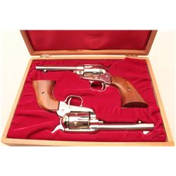 Pair of Colt Frontier Scout Model .22 caliber S.A. revolvers