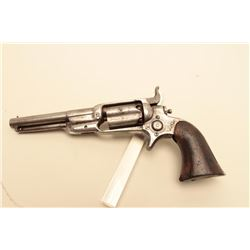 Colt Root percussion revolver, .31 caliber, 4.5 barrel, grey patina,