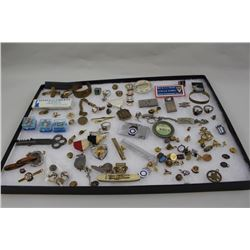 Lifetime Collection in Display. Rings, Pocket Knives, Money clips, tie
