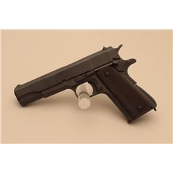 U.S. Property-marked Model 1911-A1 semi-automatic pistol by Remington Rand, .45