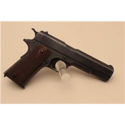 United States Property-marked Colt Model 1911 semi-automatic pistol, .45 caliber,