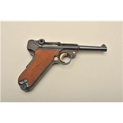 Oberndorf Mauser Luger American Eagle (Interarms marked) semi-automatic pistol, 9mm