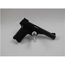 Browning .380 caliber target semi-automatic pistol, 4.25 barrel, blued finish,