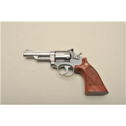 Smith  Wesson Model 66-1 DA revolver, .357 Magnum caliber,