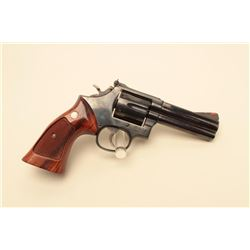Smith  Wesson Model 586 DA revolver, .357 Magnum caliber,