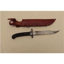 WW II fighting knife made from a 1913 Patton saber