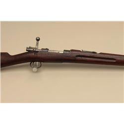 Carl Gustafs Mauser bolt action rifle, 6.5mm Mauser caliber, import-marked,