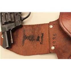 Starter pistol with Nazi markings. According to the consignor, the