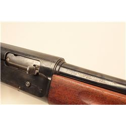 Savage Model 755A semi-auto shotgun, 16 Gauge, Serial #563305. The