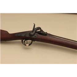 French Zulu conversion percussion rifle. The rifle is in good