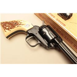 Colt Frontier Scout .22 caliber Single Action revolver with a