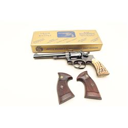 Smith  Wesson K-22 DA revolver, .22LR caliber, 6 barrel,