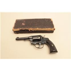 Colt Police Positive Special revolver in .38 special with 4