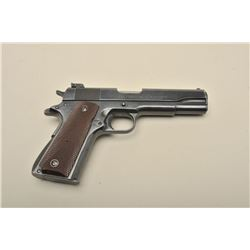 United States Property-marked Colt Service Model Ace semi-automatic pistol, .22LR