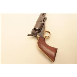 Colt 1851 Navy Revolver, .36 caliber percussion, 4th model with