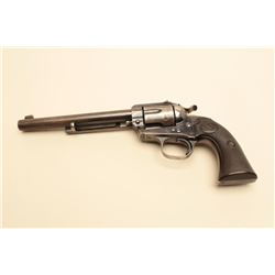 Colt Bisley Model Flat-Top Target series revolver in .38-40 caliber