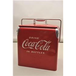 Coke Cooler made for special promotion representatives to deliver Coke.
