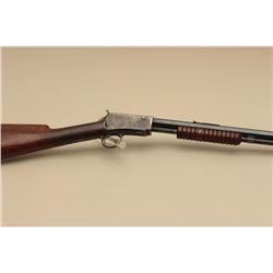 Winchester Model 90 pump action rifle, .22 W.R.F. caliber, 24