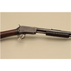 Winchester Model 1890 pump action rifle, .22 W.R.F. caliber, 24