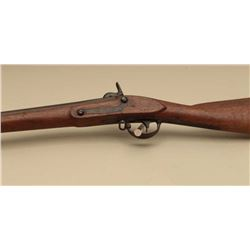 U.S. Harpers Ferry Model 1826 Conversion rifle, approximately .70 caliber,