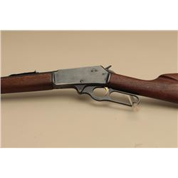 Marlin Model 336 lever action rifle, .30-30 caliber, Serial #12756.