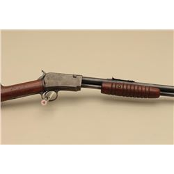 Winchester Model 62 pump rifle, .22 caliber, Serial #31385. The