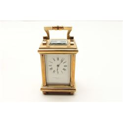 Small carriage clock by Theodore B. Star, New York in