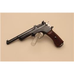Mannlicher Model 1905 semi-automatic pistol, 7.65 mm caliber, 6.25 barrel,