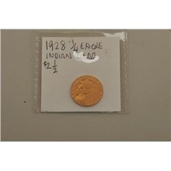 1928  Eagle (2.50) gold piece with Indian head. Not
