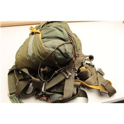 2 U.S. military parachutes from 1960s (Unsafe for use). Good