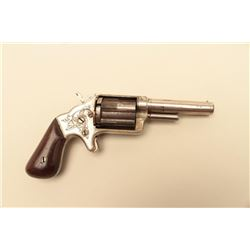 Slocum sliding sleeve revolver by Brooklyn Arms Co, S/N 1812.