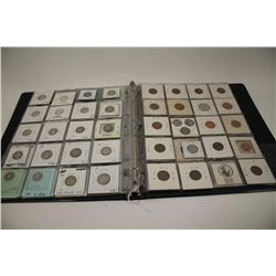 104 U.S. coins in holders with display folder. Collection started