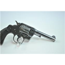 Colt Army Special Double Action revolver with a 4 barrel