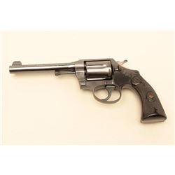 Colt Police Positive revolver in .38 Special caliber with a