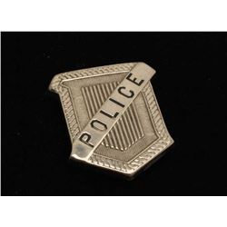 Vintage Radiator shaped badge marked Police. Est.: $125-$175.